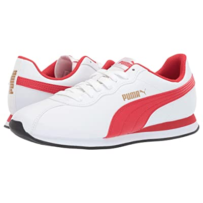 PUMA Turin II (Puma White/High Risk Red) Men
