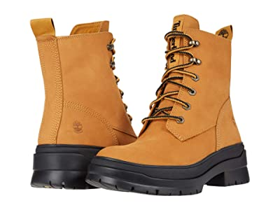 Timberland Malynn EK+ Waterproof Mid Lace Boot (Wheat Nubuck) Women