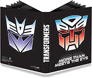 Official Transformers Autobots and Decepticons 9-Pocket PRO-Binder