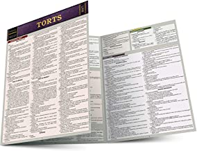 Download Torts: Quickstudy Laminated Reference Guide (Law: Quick Study) PDF