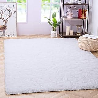 Noahas Fluffy Bedroom Rug Plush Fuzzy Rugs for Kids Room Living Room, Soft Shaggy Nursery Rug Furry Floor Carpet Modern In...