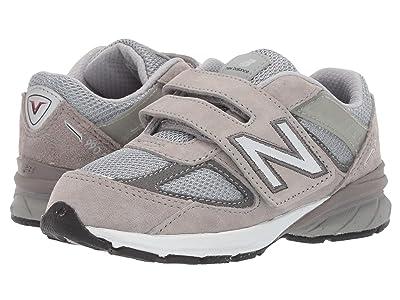 New Balance Kids 990v5 (Infant/Toddler) (Grey) Kids Shoes