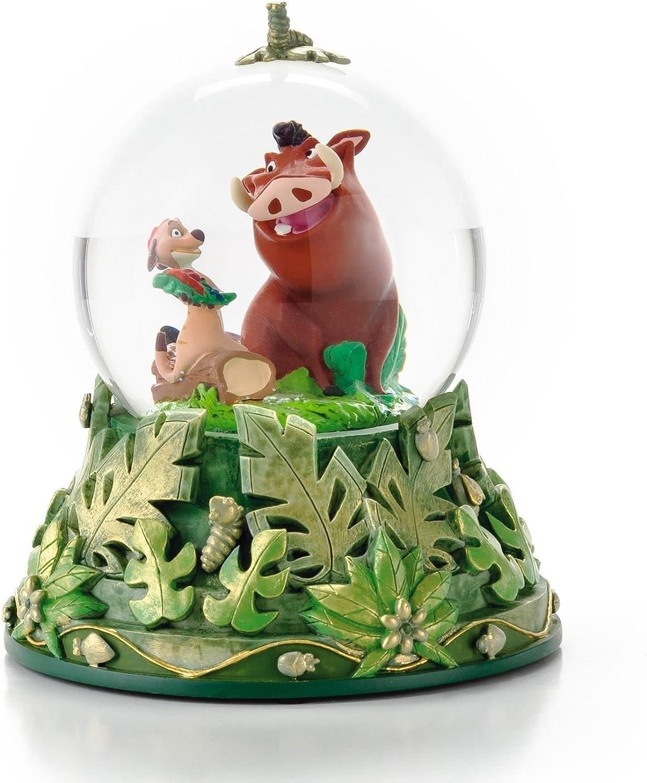 Hallmark Disney CLX2010 Timon and Pumbaa Water Globe