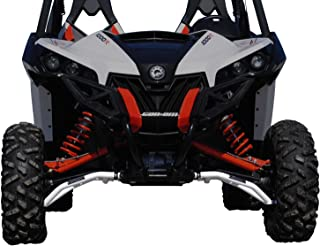 SuperATV High Clearance Front A-Arms for Can-Am Maverick DPS/X MR/X RS/MAX/Turbo (See Fitment) - White