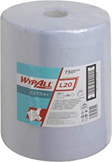 7301 Wypall L20 Wipers Large Roll Blue (1-roll)