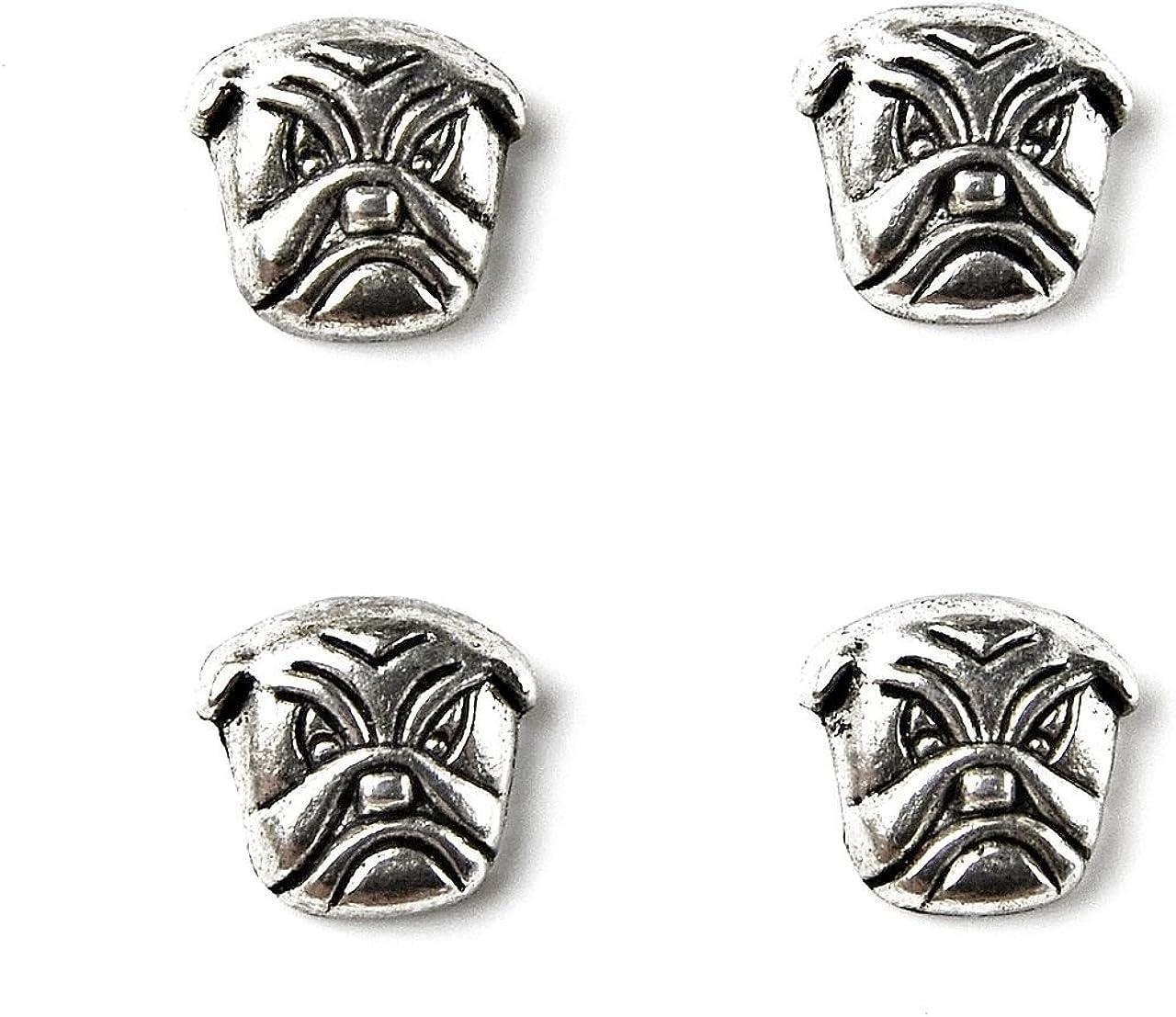 Quality Handcrafts Guaranteed Bulldog Tuxedo Studs