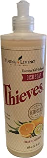 Thieves Oil Infused Dish Soap 12fl.oz Bottle by Young Living Essential Oils
