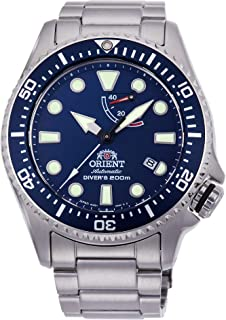 Orient Mens Analogue Automatic Watch with Stainless Steel Strap RA-EL0002L00B