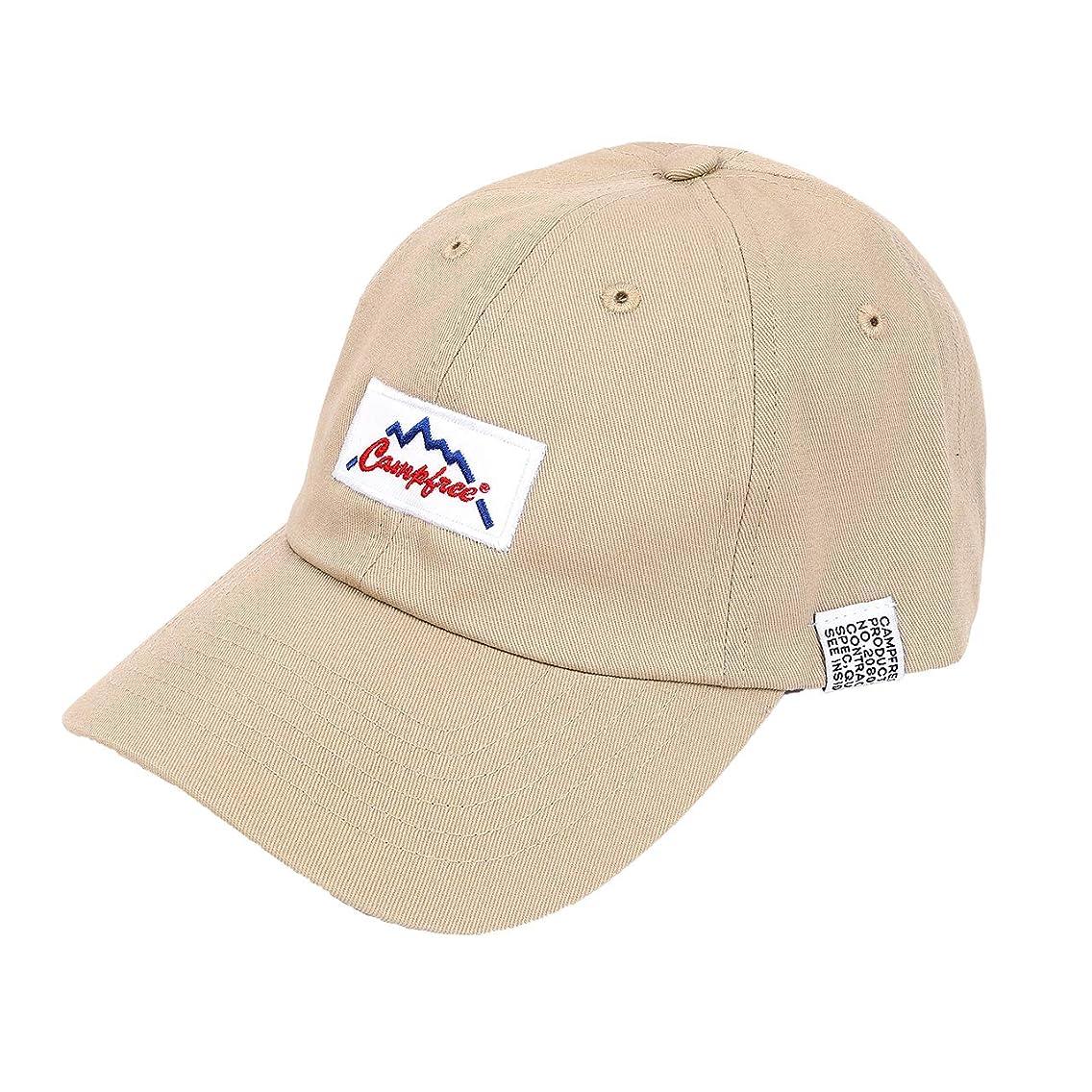 マーガレットミッチェル視聴者限定[キャンプフリー] CAMPFREE コットンツイル ローキャップ (ワッペン ロゴ) [ 綿 コットン ツイル ] キャップ 帽子 22225