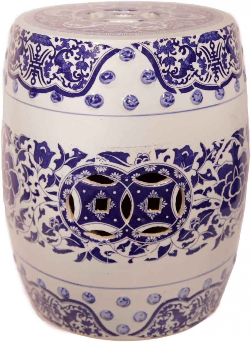 Chinese Porcelain Stool - Glazed Traditional in Gorgeous New products, world's highest quality popular! Blue Oriental a