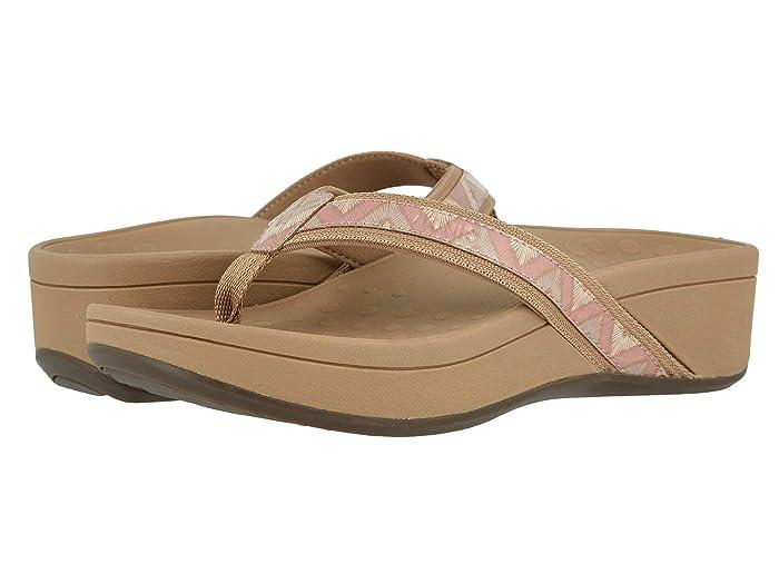VIONIC  High Tide (Dusty Pink Chevron) Womens Sandals