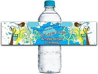 Kundenspezifische Hochzeits-Aufkleber Hochzeits-Aufkleber Hochzeits-Aufkleber Water Bottle Labels Klebe Personalisierte Wasserdicht Labels 8  x 2  Zoll - 50 Etiketten B01A0W72LM  Zuverlässige Leistung 7b66c0