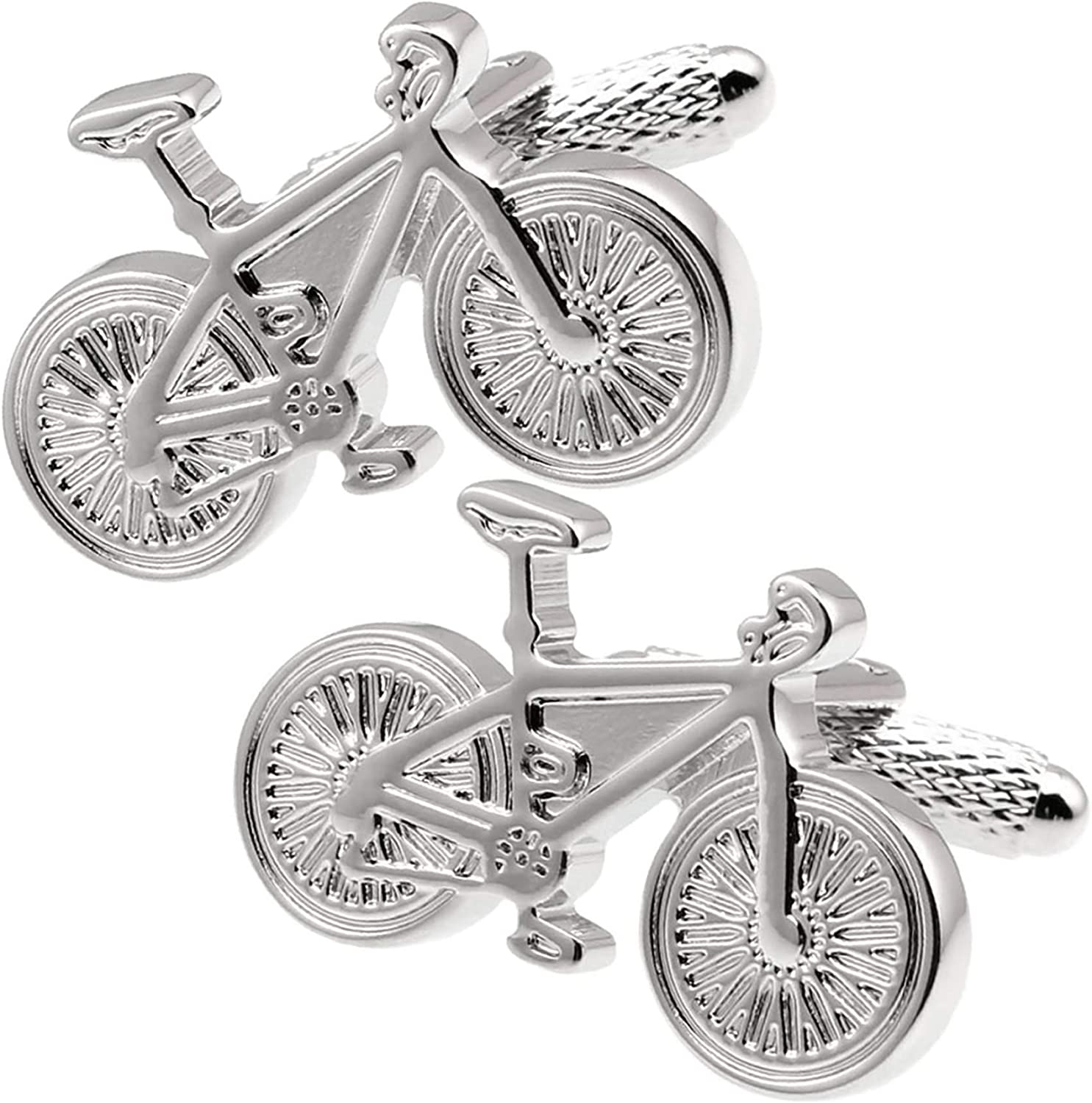 Thot Opening large release sale Ra Black Bike Bicycle Biker Spring new work For Men Cufflinks A-826 Mod.