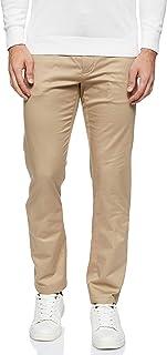 سروال دنتون صيفي للرجال من التشينو والتويل بتصميم مضلع من تومي هيلفجر