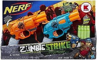Nerf Zombie Strike Doublestrike Blaster 2-Pack
