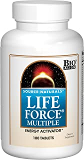 Source Natural Life Force Multiple - Energy Activator - 180 Tablets