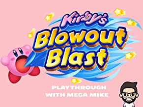 Kirby's Blowout Blast Playthrough With Mega Mike