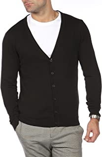 Blu Cherry Mens V Lightweight Knitted Cardigan