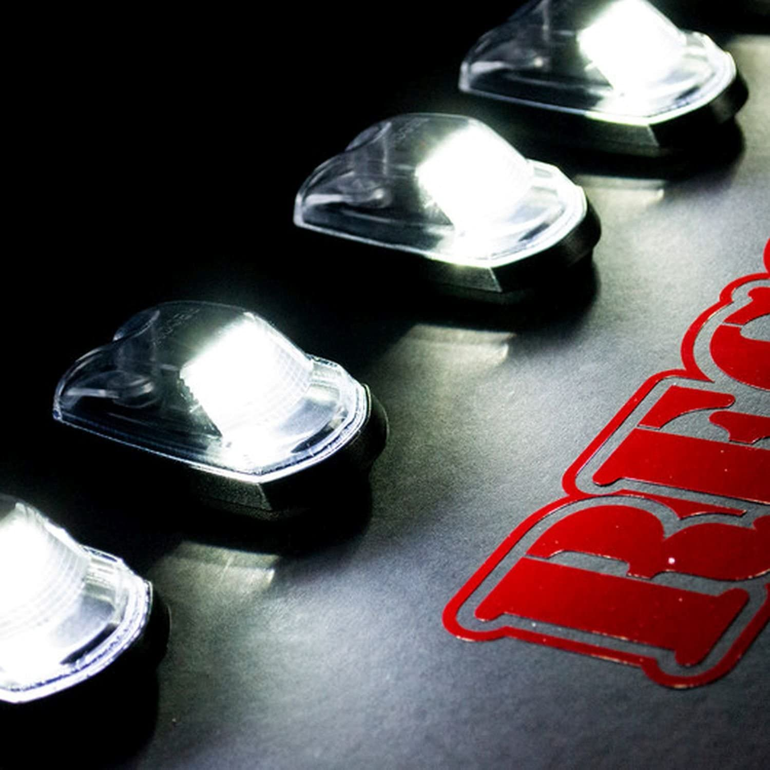Recon 264343Whcl - High quality new OFFer Black Led Lights Cab Roof