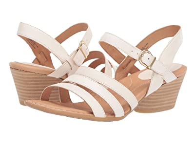 Born LaSal (White Full Grain Leather) Women