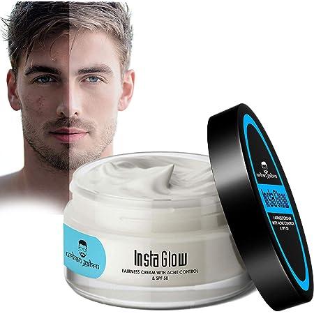 UrbanGabru Insta Glow Fairness Cream with Anti pimple and SPF 50 - No Parabens or Sulphates 50g