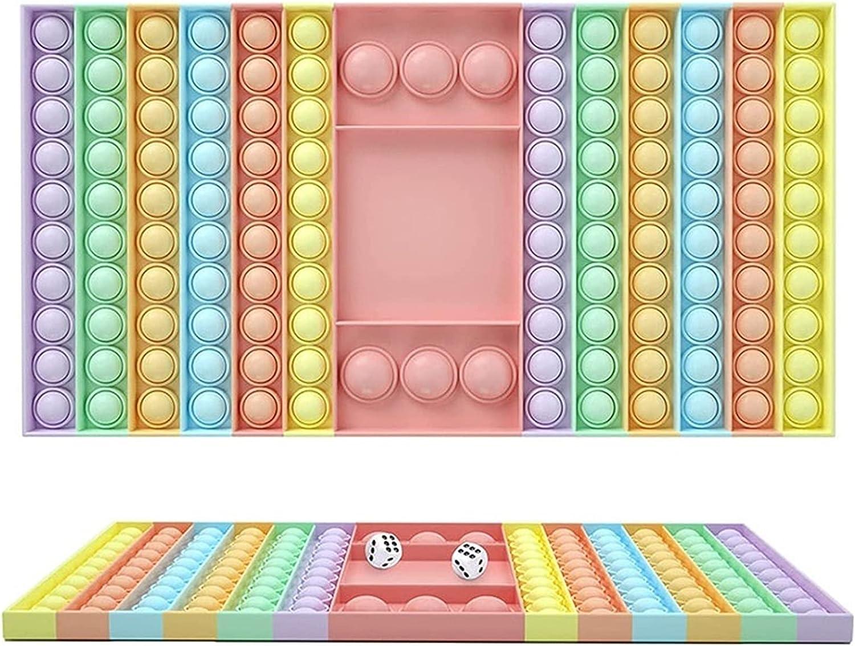 FUSKANG Chess Board Fidget Toy, Big Pop Game Fidget Toys, Dual P