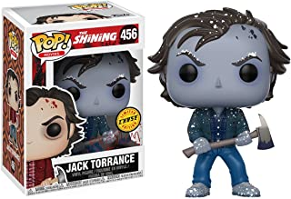 Jack Torrance [Frozen] (Chase Edition): The Shining x Funko POP! Movies Vinyl Figure & 1 PET Plastic Graphical Protector Bundle [#456 / 15021 - B]