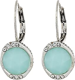 The Sak - Stone Pave Drop Earrings