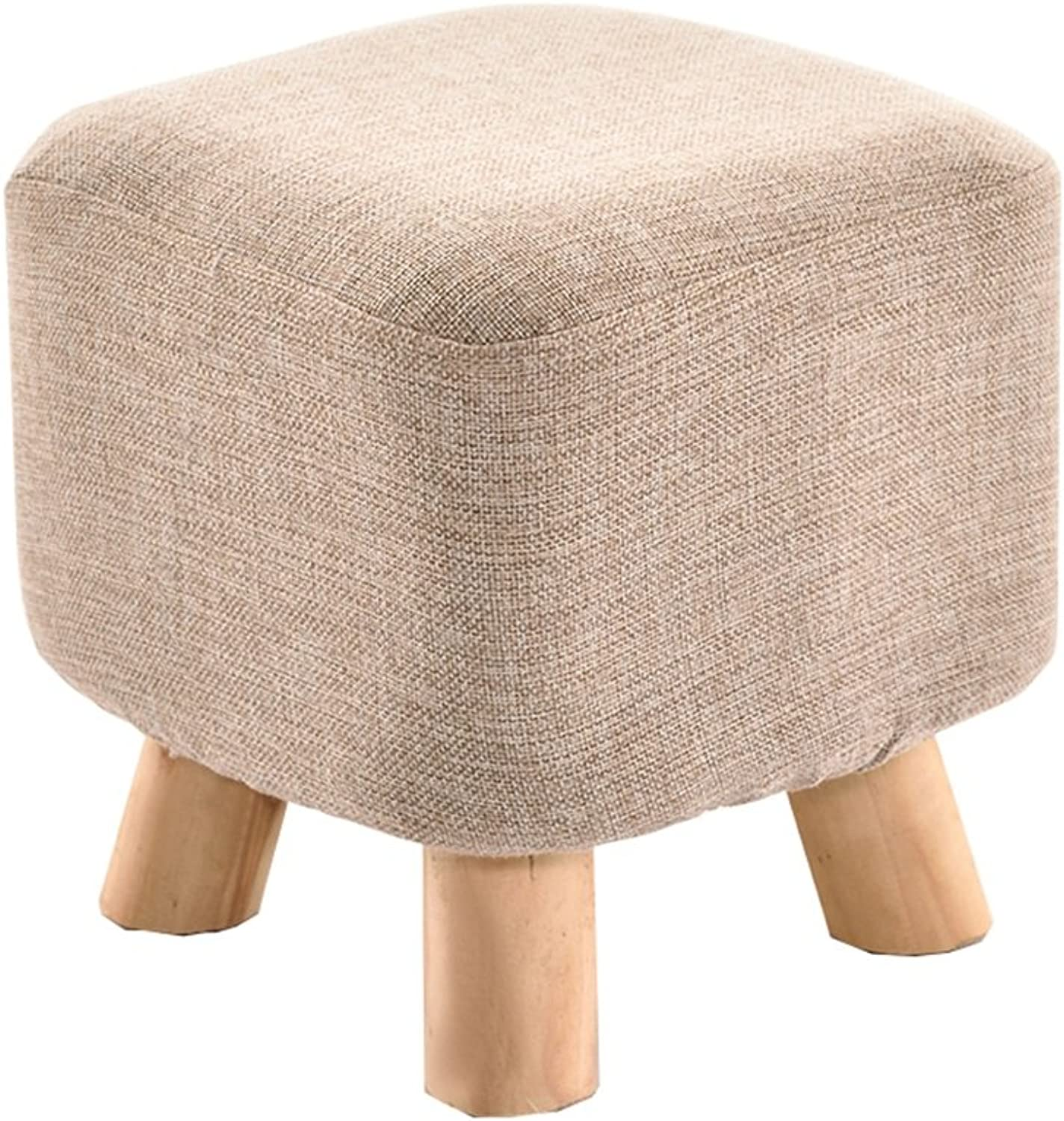Small Stool Solid Wood Coffee Table Low Stool Fashion Creative Adult shoes Stool Sofa Stool Wooden Bench