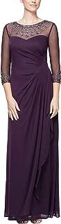 Women's Plus Size Long Sleeve Sweetheart Neckline Dress