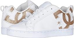 White/White/Metallic Gold