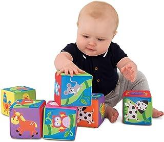 Galt Toys Soft Blocks - baby toys (Set of 6), A1085L
