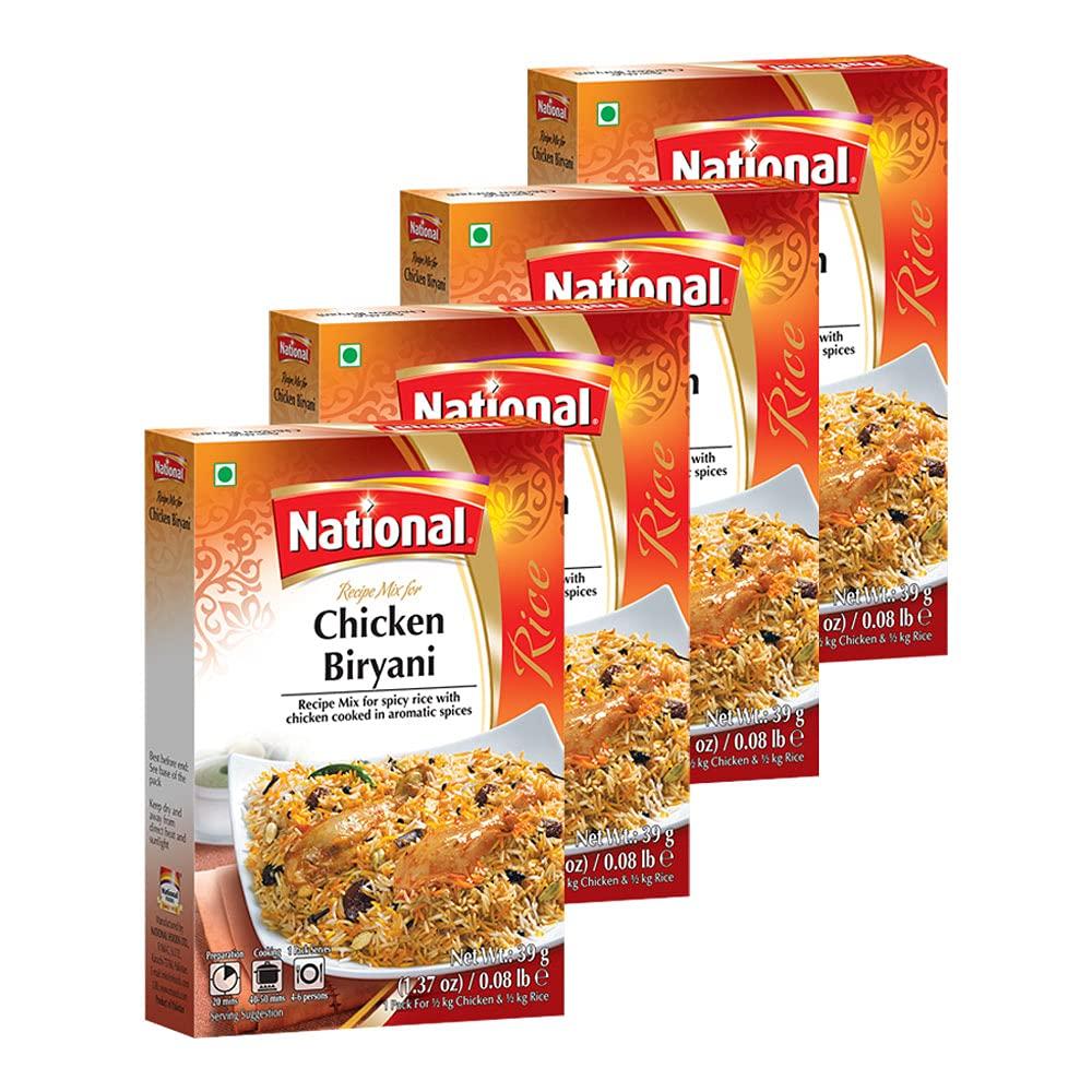 National Foods Chicken Biryani Recipe Mix 1.37 oz (39g)   South