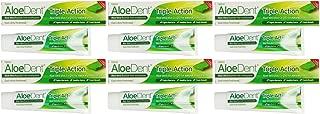 (6 PACK) - Aloe Dent - Aloe Vera Triple ActionT/paste   100ml   6 PACK BUNDLE