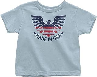 LeetGroupAU American Made in USA Toddler T-Shirt