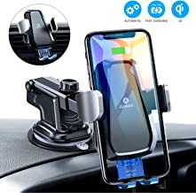 Best clamping wireless car charger mount Reviews