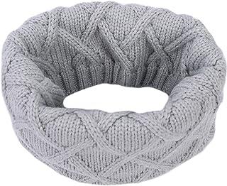 男孩女孩保暖针织围巾领保暖衣冬季加厚披肩围巾
