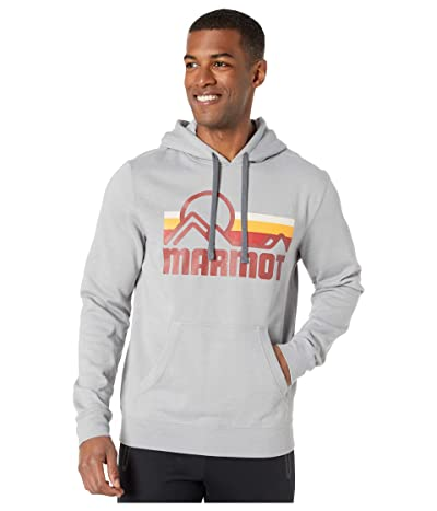 Marmot Coastal Hoodie (Steel Heather) Men