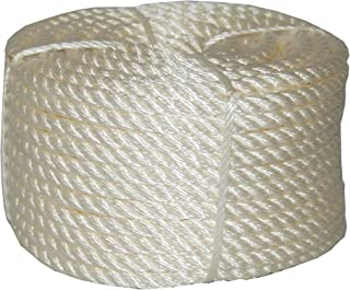 T.W Evans Cordage 32-066 3/4-Inch by 100-Feet Twisted Nylon Rope Coilette