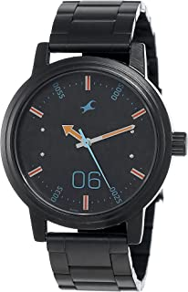 Fastrack Road Trip Black Dial Stainless Steel Strap Watch, NM3199NM01 / NL3199NL01