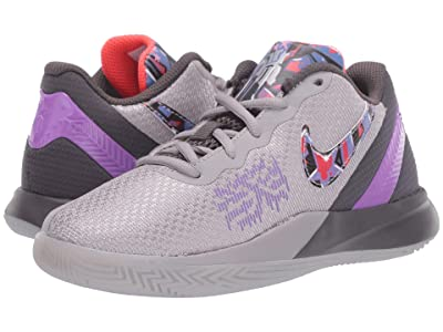 Nike Kids Kyrie Flytrap II (Little Kid) (Atmosphere Grey/Bright Crimson/Bright Violet) Boys Shoes