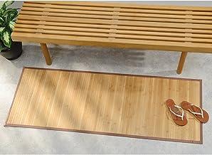 iDesign bamboe vloermat 53 x 152 cm Nautrale