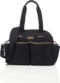 Babymel Jesse Shoulder Bag Diaper Bag, Black