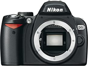 Nikon D60 DSLR Camera (Body Only) (OLD MODEL)