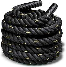 حبل لتدريبات القوة من بودي سكالبتشر BB-2407 - اسود واصفر
