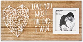 Vilight Boyfriend and Girlfriend Couples Romantic Picture Frame – Love You Most the..