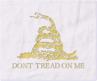 large don t tread on me stencil