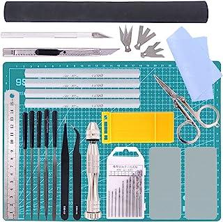 Swpeet 27Pcs Professional Kit for Gundam Modeler Basic Tools, Kit for Gundam Model Tools Kit Perfect for Model Kit Buildin...