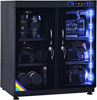AUTENS TWAIPO 135L Electronic Dehumidify Dry Cabinet Box Anti-Mold Storage with Touchscreen, 2-Door, LED Light, Adjustable...