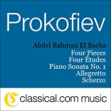 Sergey Prokofiev, Piano Sonata No. 1 In F Minor, Op. 1